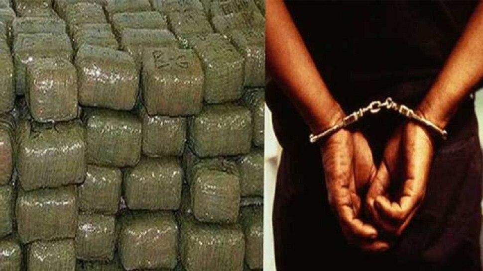 कटिहार में नशे के खिलाफ बड़ी कार्रवाई, 3 क्विंटल गांजे के साथ 7 तस्कर गिरफ्तार