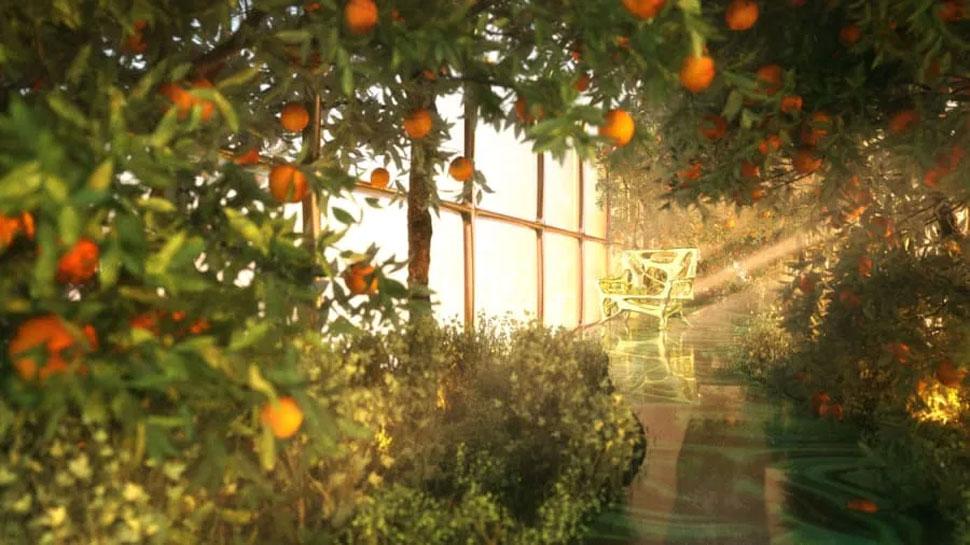 Garden on board in steve jobs' the g train