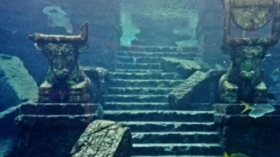Hidden treasures inside sea