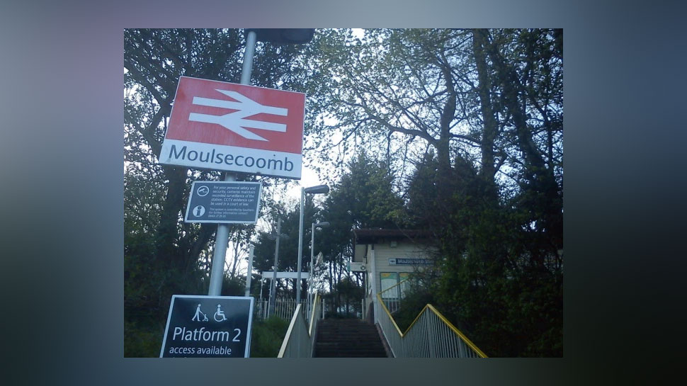 Moulsecoomb station, Location: Sussex