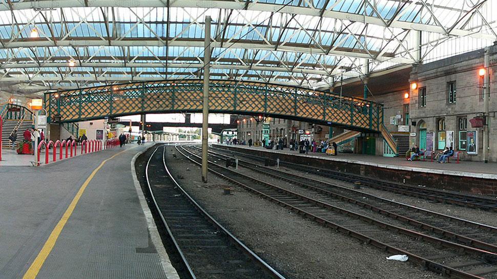 Carlisle Railway Station, UK