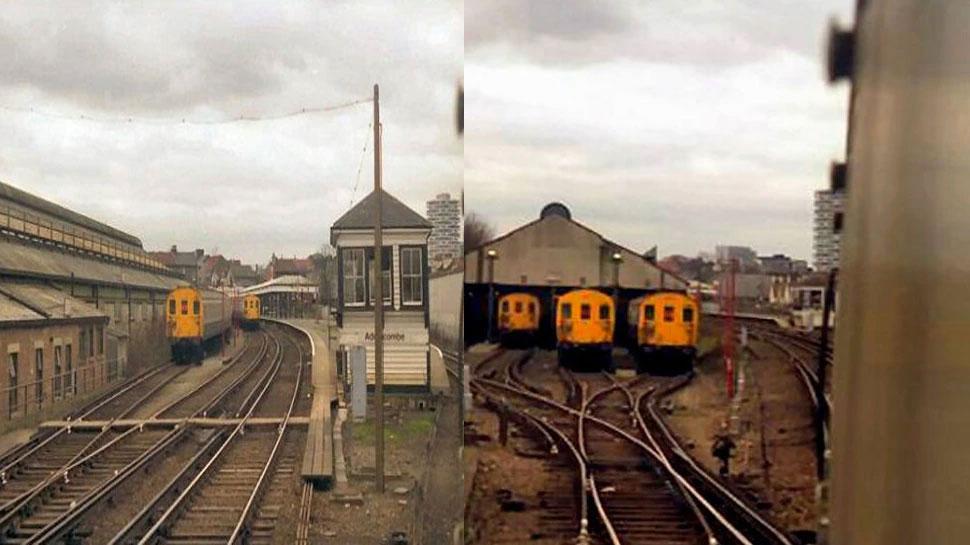 Addiscombe Railway Station, UK