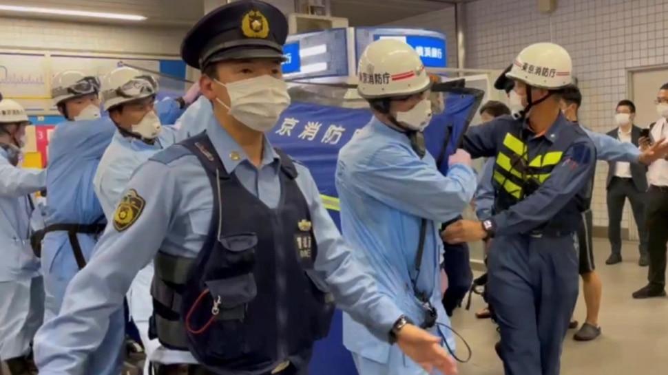 Japan: हमलावर ने Train में घुसकर चाकू से किया हमला, 10 लोग घायल