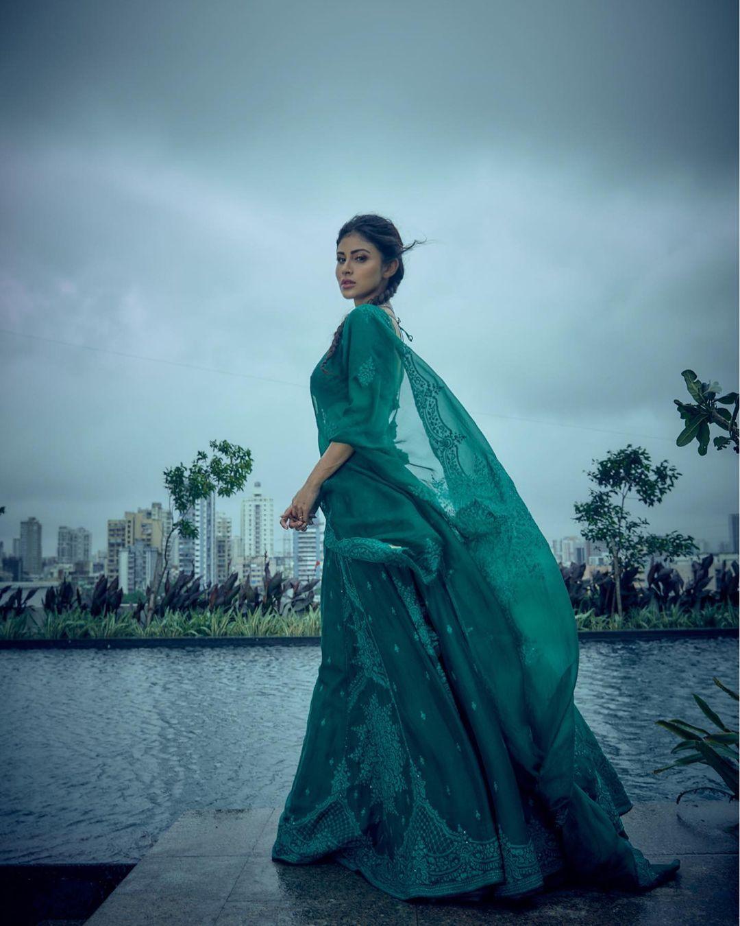 Mouni Roy Traditional Look