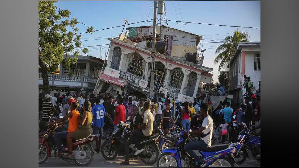 Earthquake in Haiti: आपदा में डोली धरती, 300 से ज्यादा की मौत और 2000 घायल