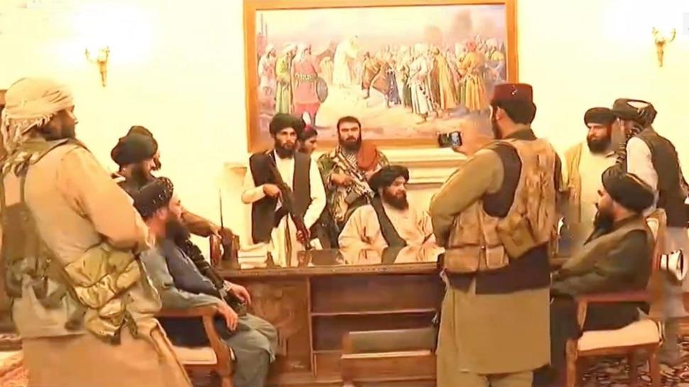 Afghanistan: राष्ट्रपति भवन पर तालिबानी कब्जे की पहली तस्वीर, भारत स्थित दूतावास का ट्विटर हैंडल हुआ हैक