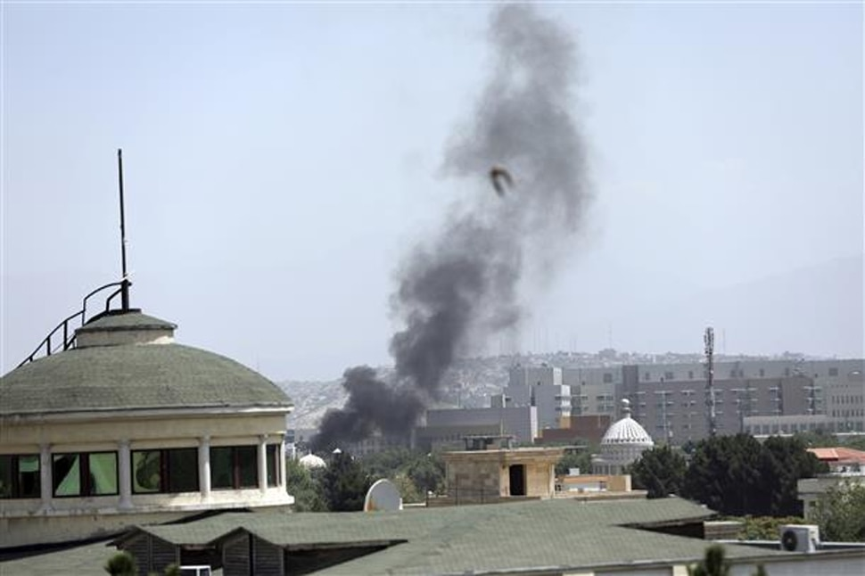 Explosion near US embassy