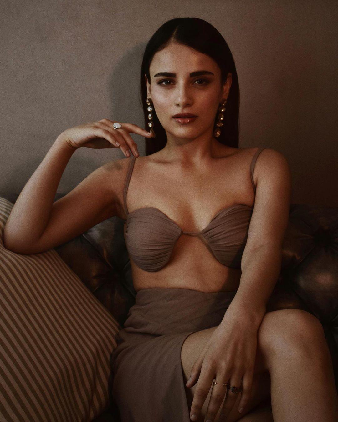 Radhika Madan bold outfit