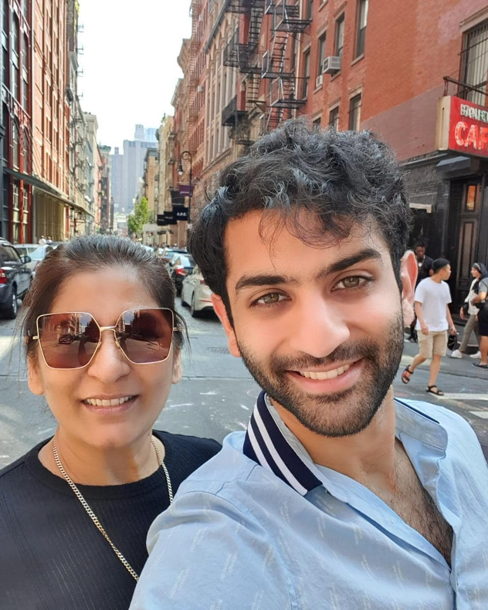 Ayushmaan Sethi is very close to his mother