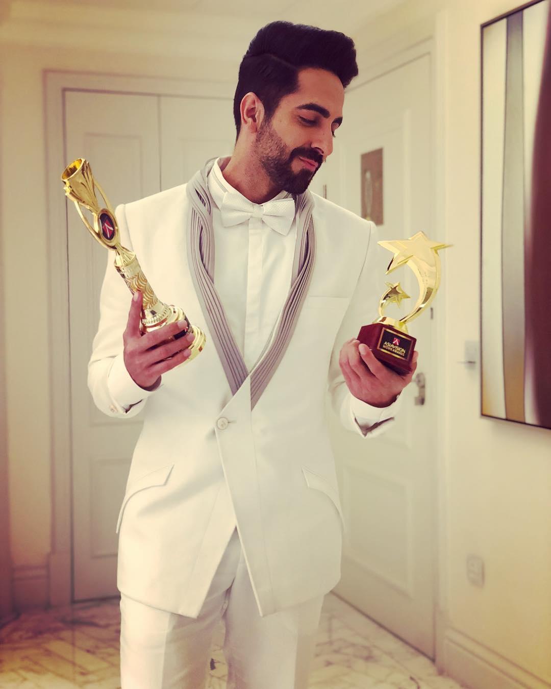 Ayushmann Khurrana Awards