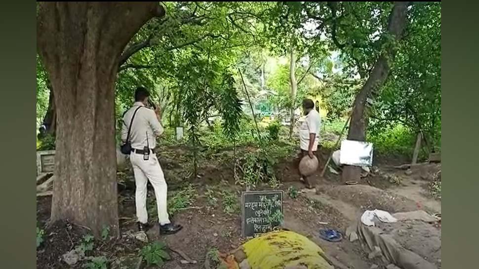 दो दिन पहले दफनाए गए शव को आज पुलिस ने कब्र खोदकर निकाला, जानिए क्यों किया ऐसा