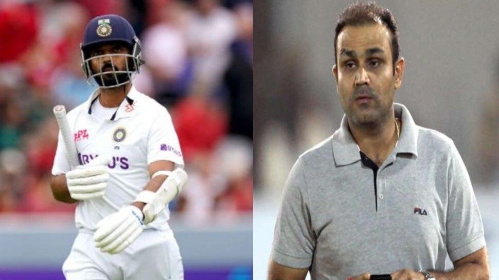 Ajinkya Rahane को लेकर Virender Sehwag का सनसनीखेज बयान! टीम से बाहर करने की दे दी सलाह