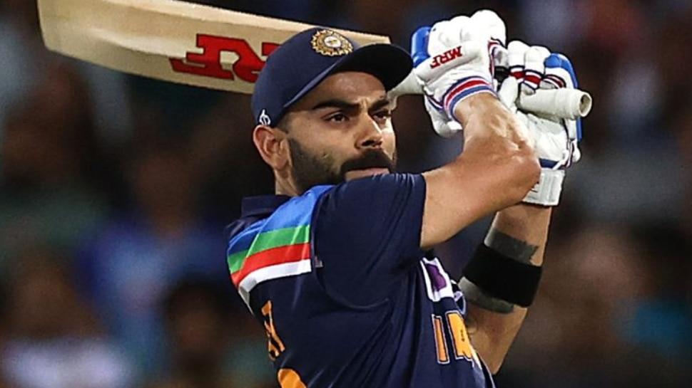 Virat Kohli moves ahead in ICC T20 Rankings before t20 world cup kl rahul in top 10   ICC T20 Ranking: टी20 वर्ल्ड कप से पहले Virat Kohli की बल्ले-बल्ले, डर से थर-थर कांप रही होगी विरोधी टीम