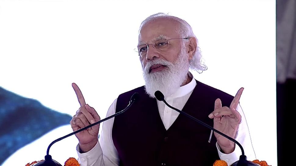 PM Modi का सेंट्रल विस्टा प्रोजेक्ट के आलोचकों पर निशाना, बोले- सच सामने आते ही विरोधी चुप