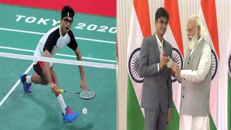 PM मोदी ने शुरू की ओलंपियंस से मिले उपहारों की नीलामी, Noida DM सुहास एलवाई के रैकेट की लगी रिकॉर्डतोड़ बोली