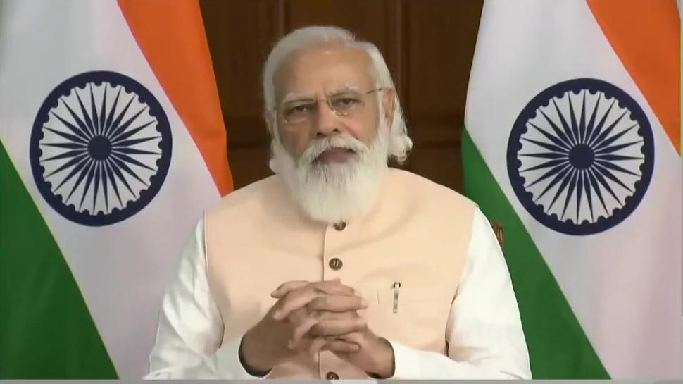 PM Modi का कांग्रेस पर तंज, बोले- वैक्सीनेशन का रिकॉर्ड देखकर एक पार्टी को आ गया बुखार