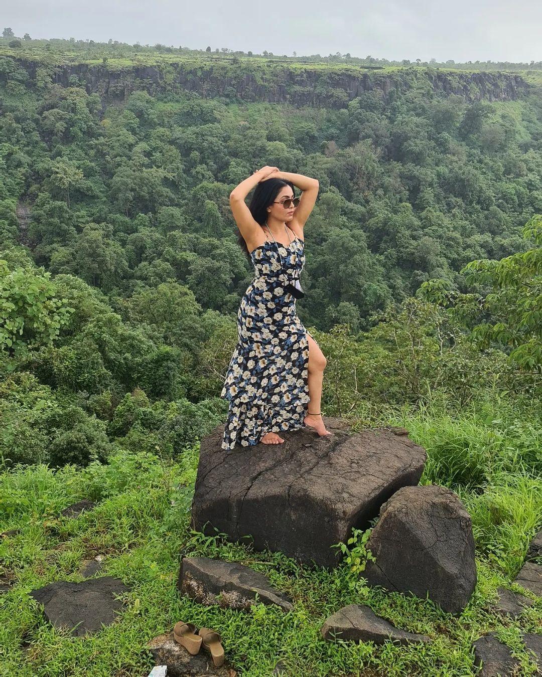 Shubhangi Atre High Slit Dress