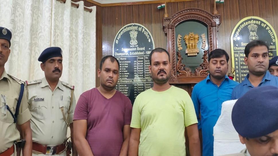 मोतिहारी पुलिस के हाथ लगी बड़ी सफलता, अंतरराष्ट्रीय शटर कटवा गिरोह के सरगना गिरफ्तार