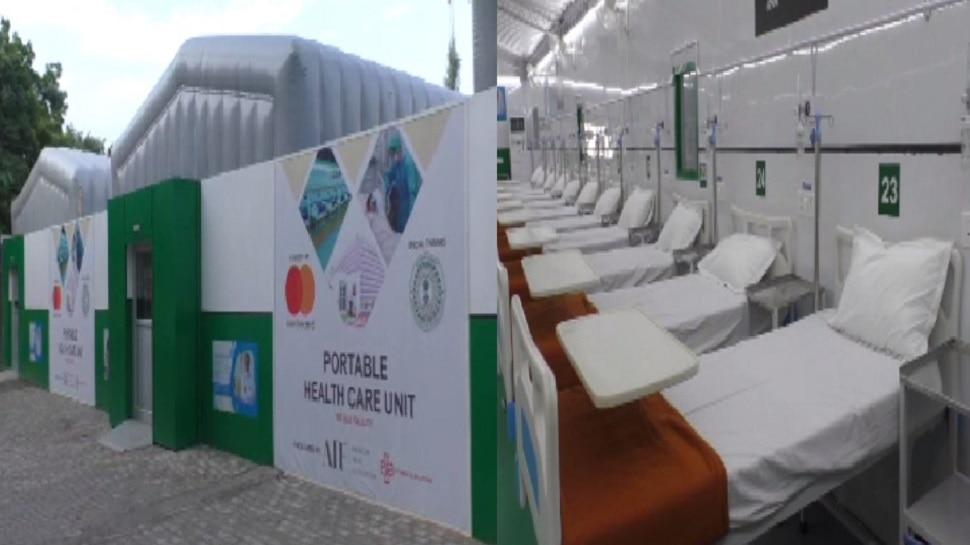 जमशेदपुर के MGM में अब विदेशों की तर्ज पर मरीजों को मिलेगी सुविधा, 100 बेड का मॉड्यूलर इमरजेंसी वार्ड बनकर तैयार