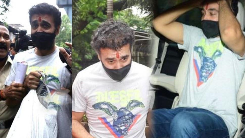 Raj Kundra की जेल से निकलने के बाद पहली Photo आई सामने, हालत देख लगेगा Shock