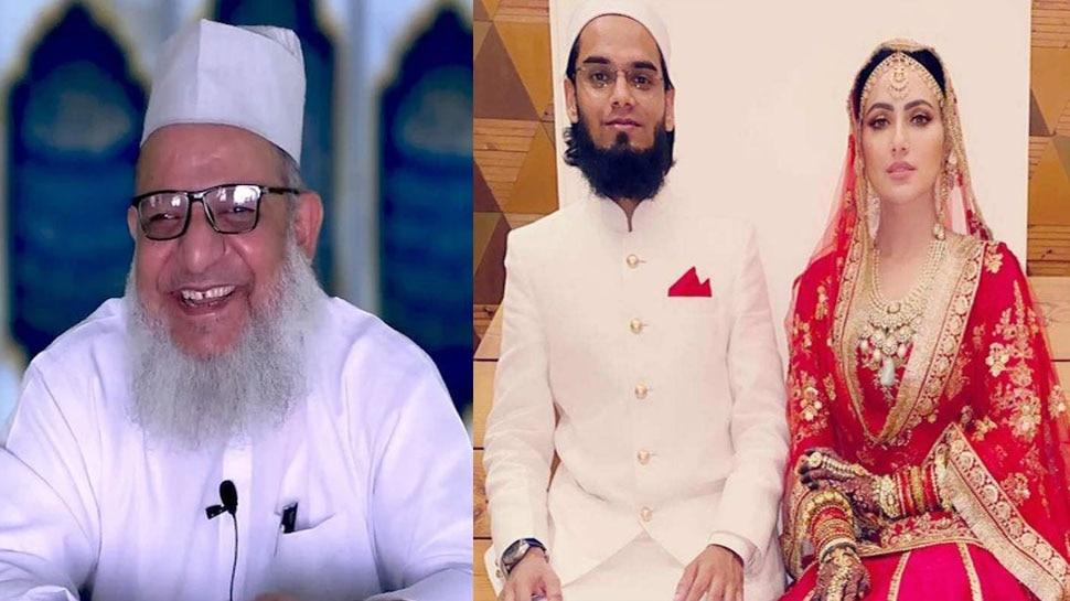 गिरफ्तार हुए मौलाना कलीम सिद्दीकी ने कराई थी  Sana Khan की शादी