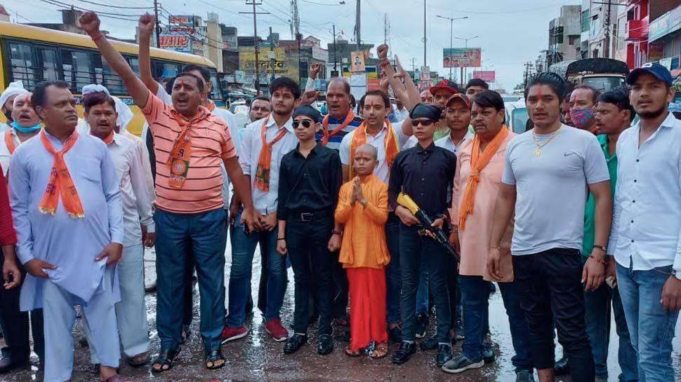 'Junior UP CM' seen in Noida