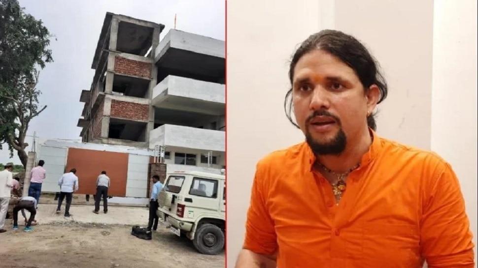 नरेंद्र गिरी के शिष्य आनंद गिरी की मुश्किलें बढ़ीं, आश्रम पर सील की कार्रवाई के बाद DM ने दिए जांच के आदेश