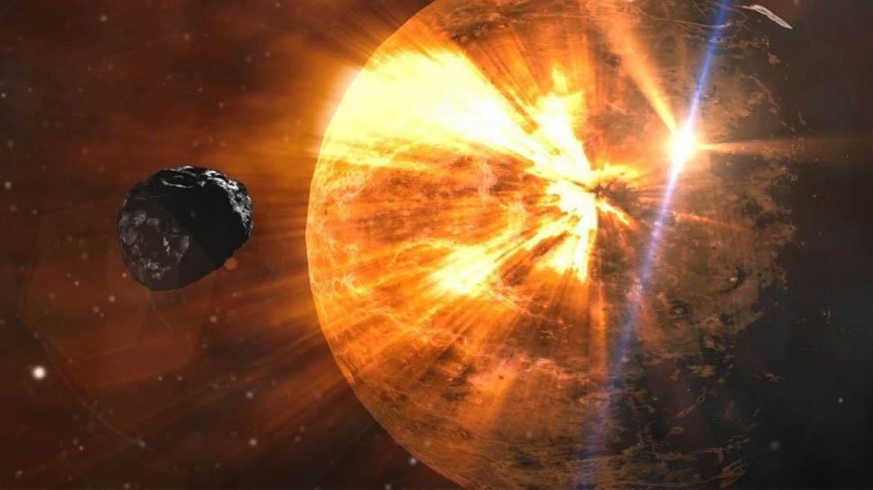 सूरज की तरफ बढ़ रहा विशालकाय धूमकेतु, धरती पर मंडरा रहा बड़ा खतरा?