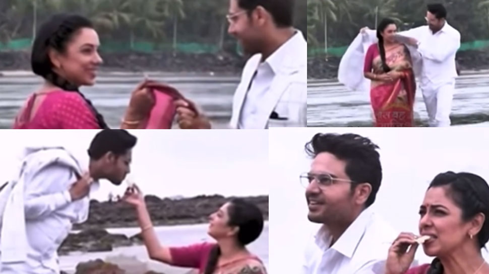 Anupama और Anuj जुहू बीच पर करते दिखेंगे रोमांस, LEAK हुई ट्विस्ट की VIDEO