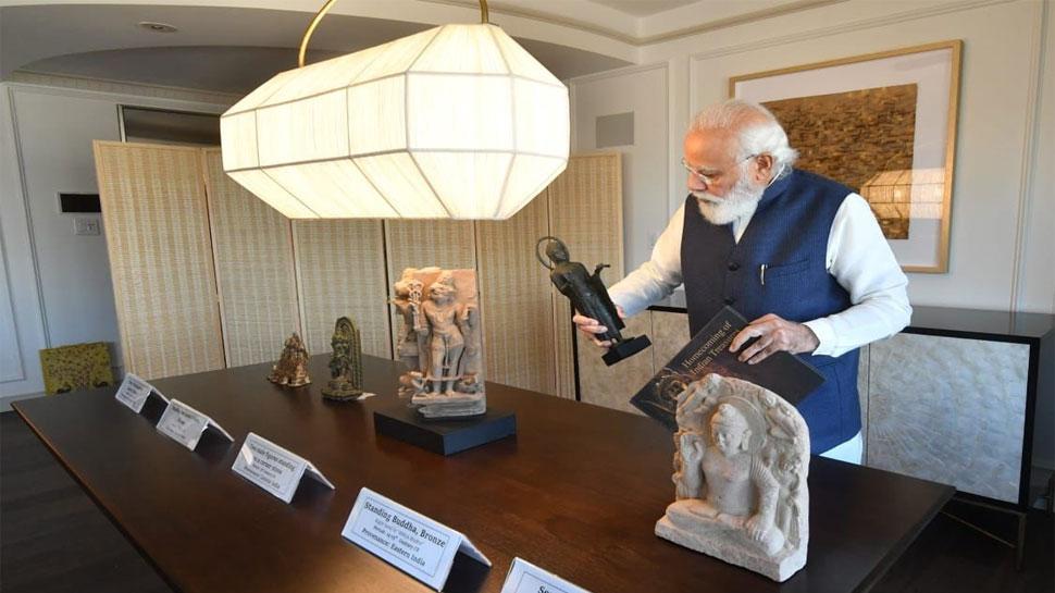 PM Modi US Visit: पीएम मोदी अमेरिका से ला रहे हैं 157 बेशकीमती कलाकृतियां, चोरी-तस्करी के जरिए गई थीं देश से बाहर