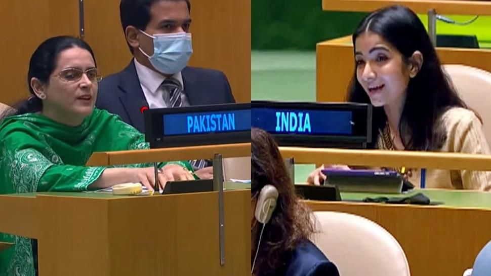भारतीय डिप्लोमेट स्नेहा दुबे के तीखे वार से तिलमिलाया पाक, बचाव में दिया बेतुका बयान