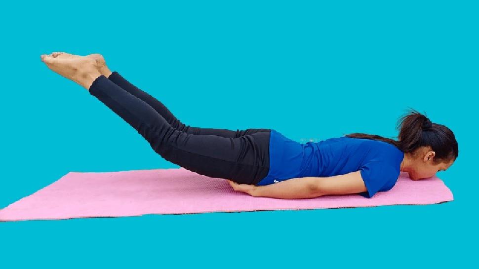 Benefits of Shalabhasan: पीठ दर्द का इलाज है ये आसन, चर्बी भी करता है कम, जानिए करने का तरीका और 8 फायदे