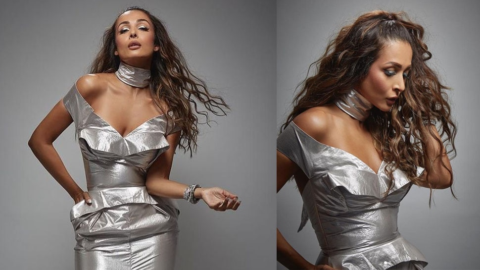 Malaika Arora was seen in a bold look wearing a dress like 'Foil Paper', people made fun of her