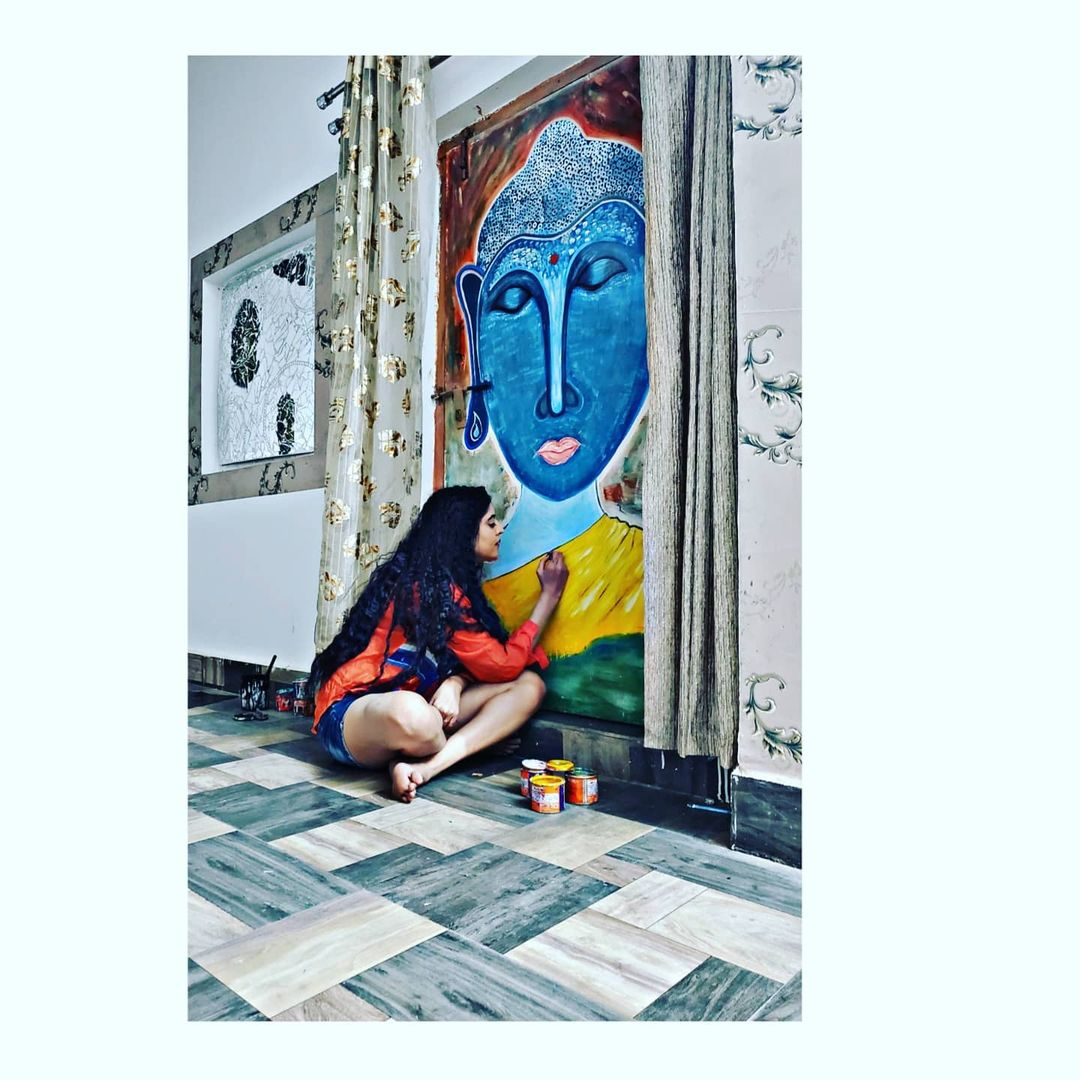 Monika bhadoriya painting