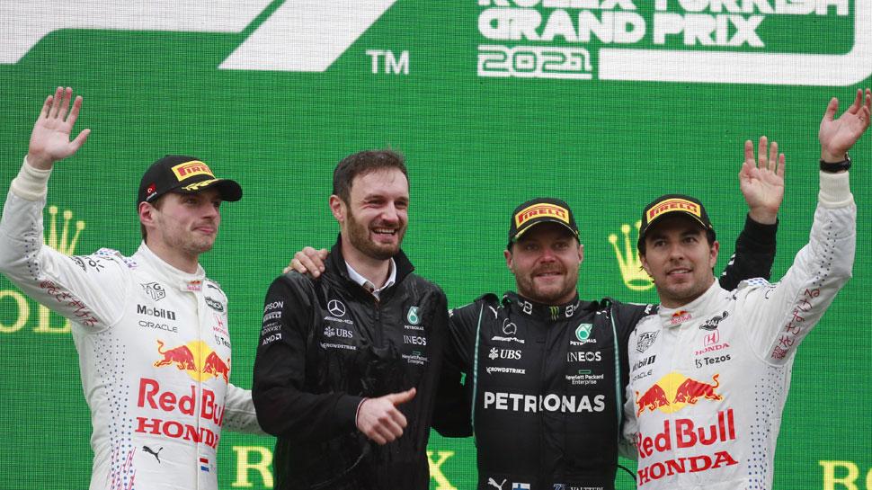 Formula 1: Valtteri Bottas ने जीती Turkish Grand Prix, 5वें नंबर पर रहे Lewis Hamilton