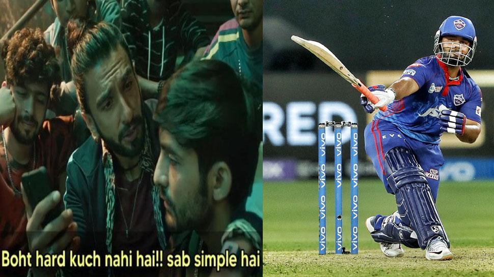 IPL 2021: Rishabh Pant hits One Hand Six on Shardul Thakur Full toss, Fans Said, Very Hard, CSK vs DC |  Rishabh Pant hit a great six with one hand, fans said – 'Very hard'