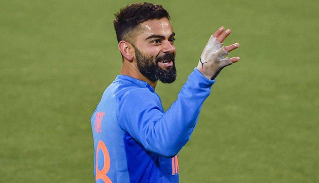 rcb captain virat kohli tweet ms dhoni batting watch ipl 2021    IPL: Virat Kohli jumped after seeing Dhoni's innings, said – was forced