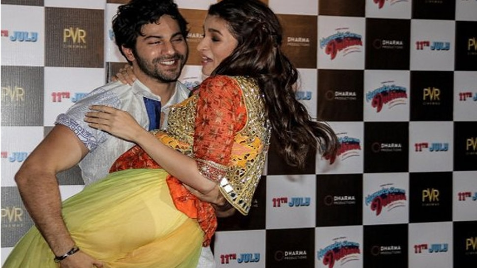 Alia Bhatt Was Suffered From Ooops Moment During Humpty Sharma Ki Dulhaniya Promotion |  Alia Bhatt had to wear a transparent salwar, she was the victim of an ups moment because of Varun Dhawan