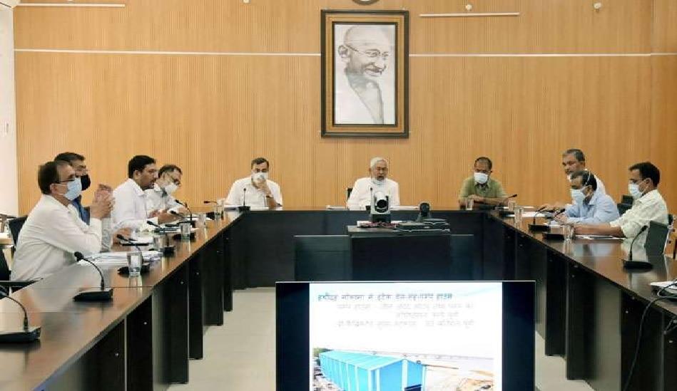गंगा उद्वह योजना की प्रगति देखने गया पहुंचे CM नीतीश कुमार, दिए कई जरूरी निर्देश