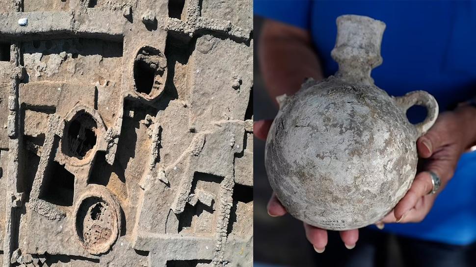 खुदाई में मिली 1500 साल पुरानी Wine Factory, ऐसे तैयार होती थी 20 लाख लीटर शराब