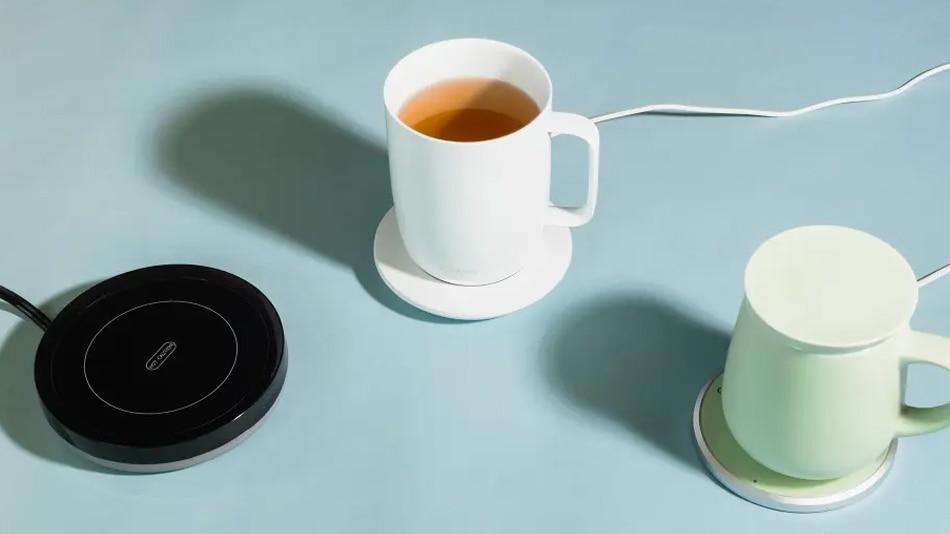 Coffee Mug with Hot Plate