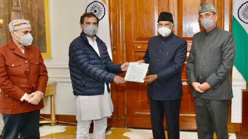 लखीमपुर हिंसा मामले में राहुल-प्रियंका ने राष्ट्रपति को सौंपा ज्ञापन, जानिए इससे क्या फर्क पड़ेगा