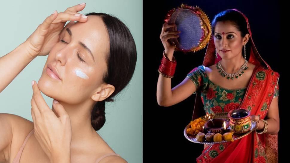 Karwa Chauth 2021: करवाचौथ के दिन दिखेंगी सबसे खूबसूरत, रात में चेहरे पर लगाएं ये चीज, चमकदार बनेगी त्वचा