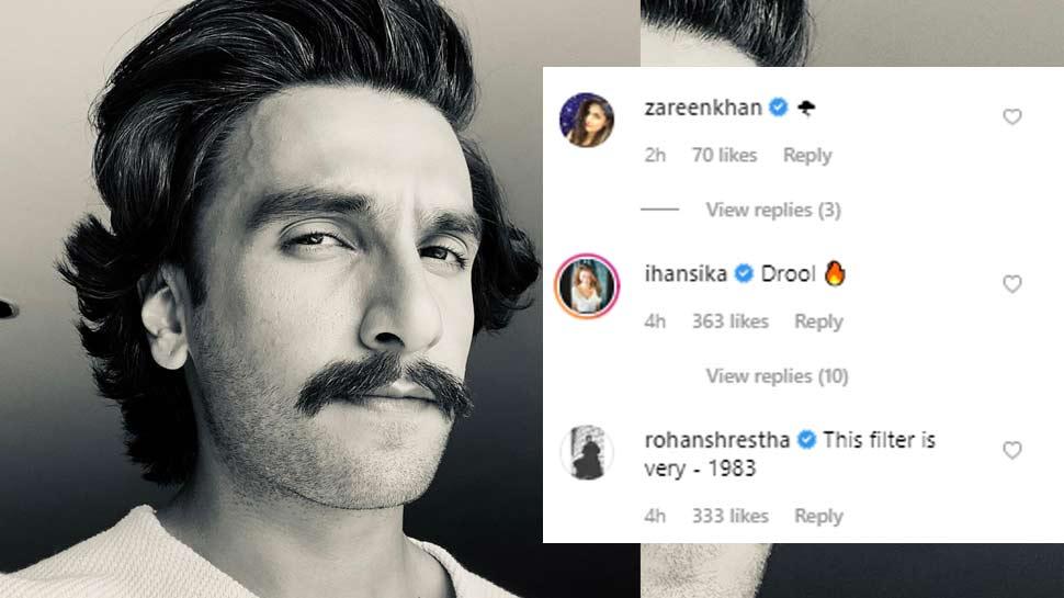 Ranveer Singh's 'retro' look leaves Bollywood celebs floored