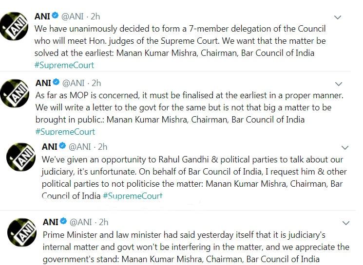 Bar Council of India Supreme court Dipak Misra India