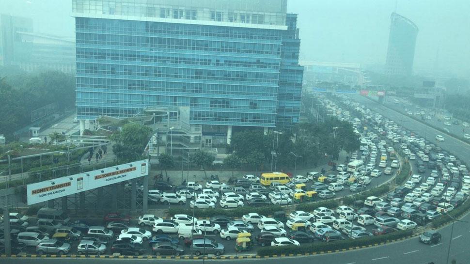 Delhi Gurugram Jam