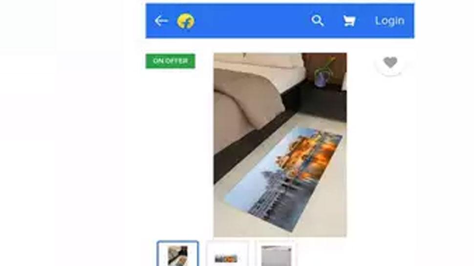 Flipkart used Harmandir Sahib pic on foot mat SGPC opposed