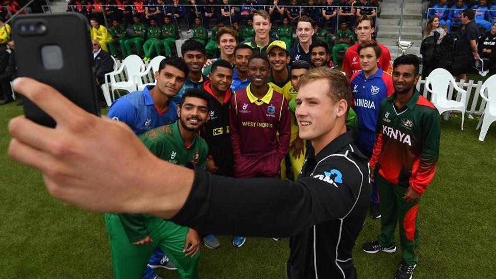 ICC U19 World Cup ICC Christchurch New Zealand Prithvi Shaw