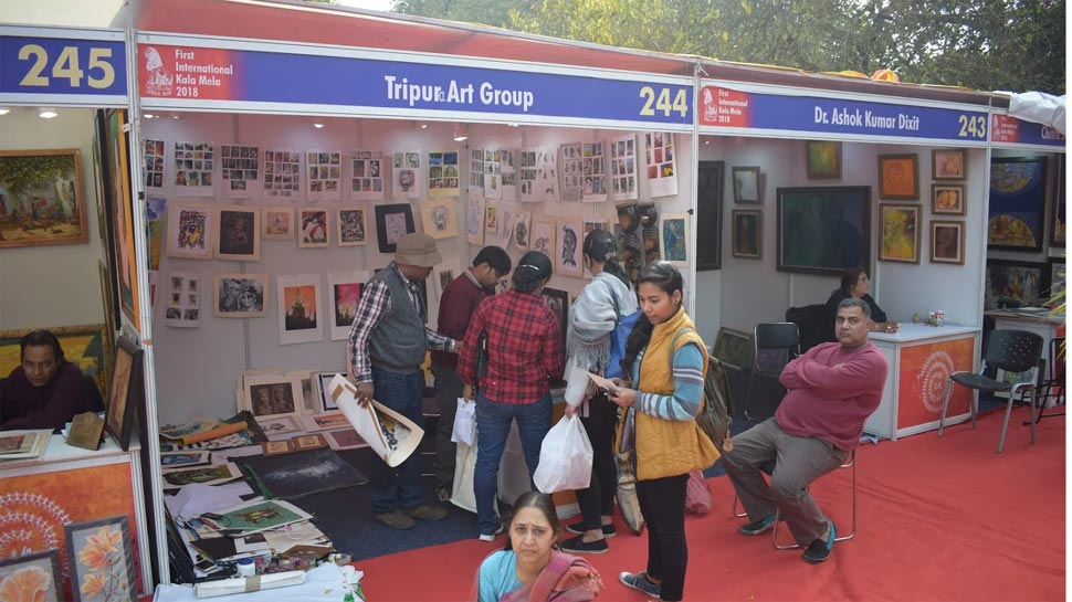 International Kala Mela, Kala Mela, Lalit Kala Akademi, कला मेला, ललित कला अकादमी, कला