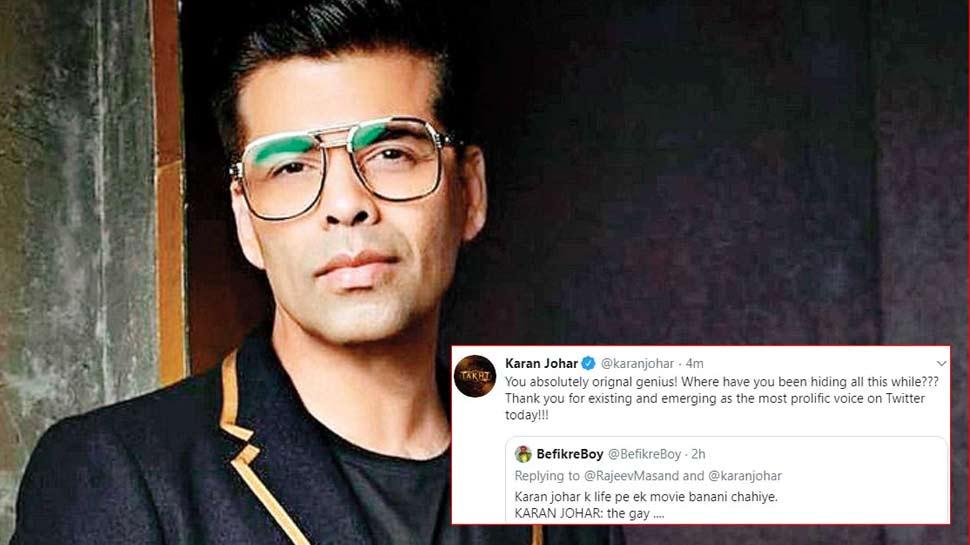 Karan Johar on trolling